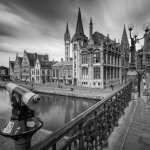 Afternoon in Ghent Old Town