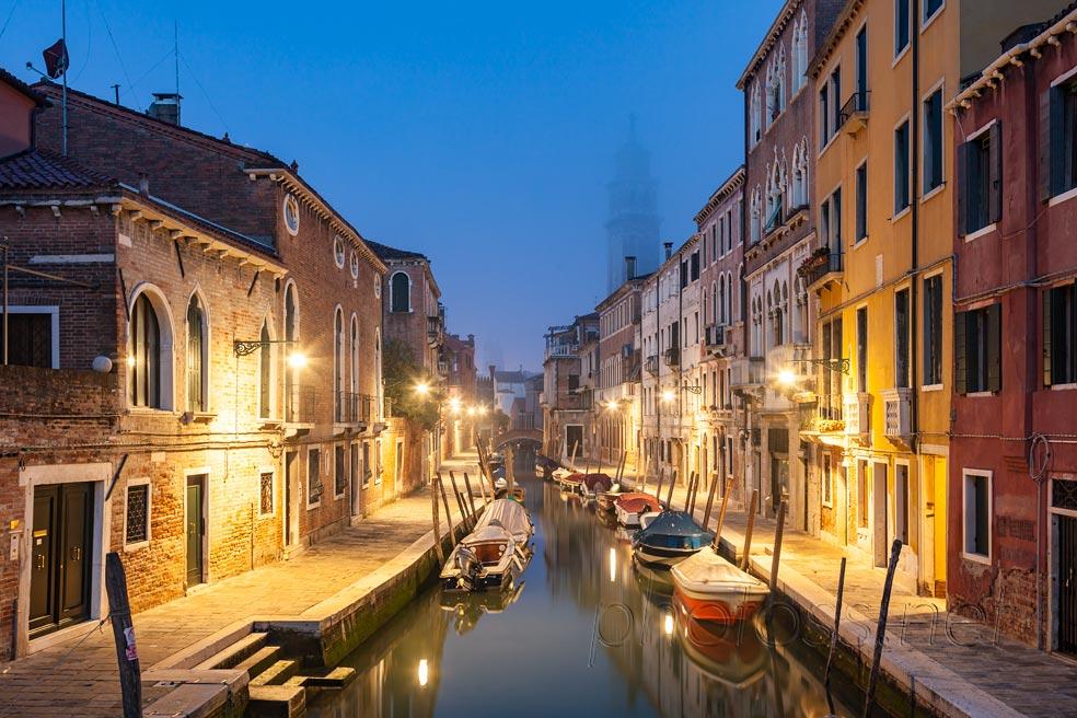 Fog in Venice