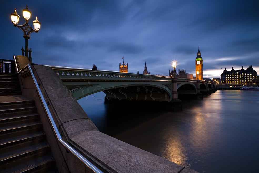 Dusk at Westminster
