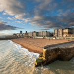 Autumn afternoon in Brighton
