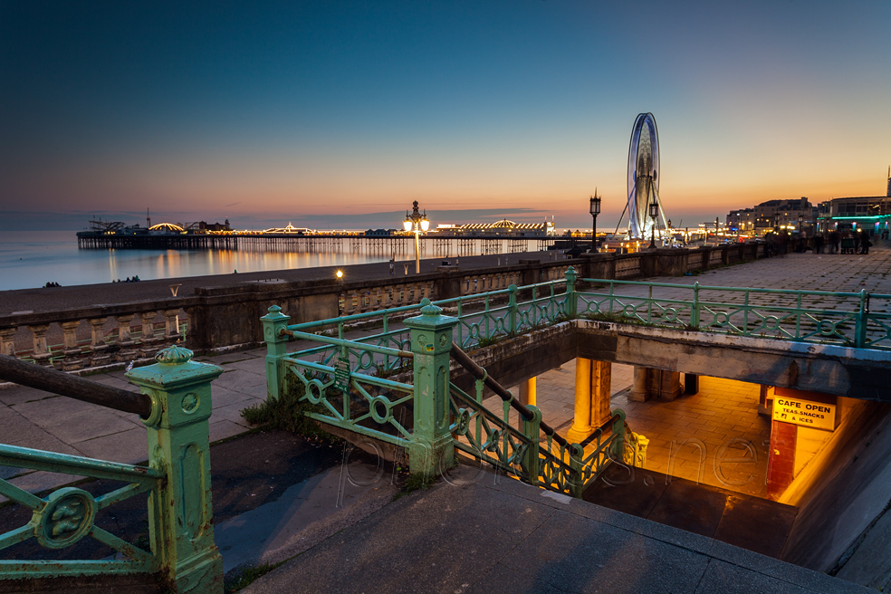 Evening in Brighton