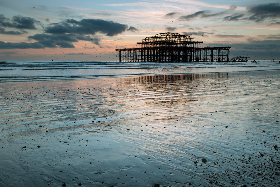 Sunset at West Pier