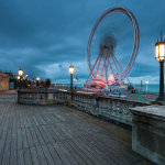 Evening at Madeira Drive