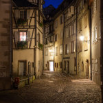 A street corner in Colmar