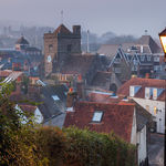 Winter evening in Lewes