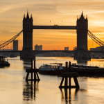 Sunrise at Tower Bridge