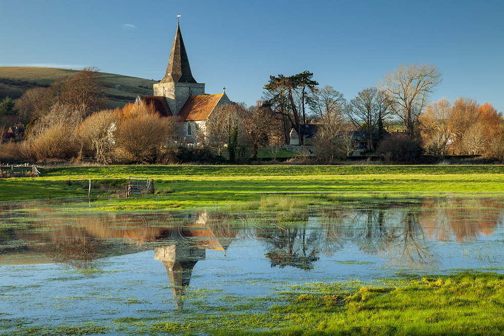Alfriston church in East Sussex