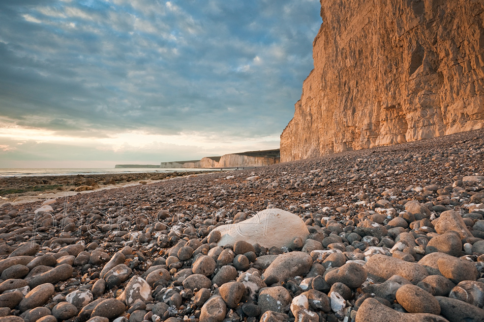 Cloudy afternoon at Birling Gap