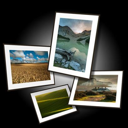 Fine art landscape prints of Brighton, Sussex, UK and Europe