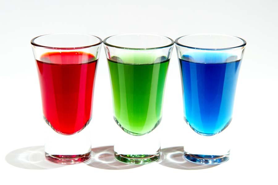 Coloured Shots