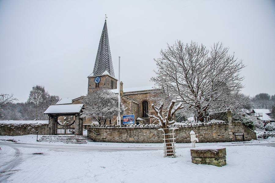 St Mary's Snow