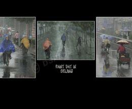 Rainy Day in Beijing
