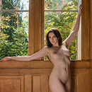 Two windows and a Nude