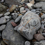 Rock and pebbles