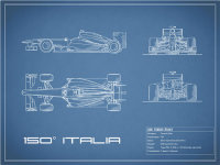 The 150 Italia GP Blueprint