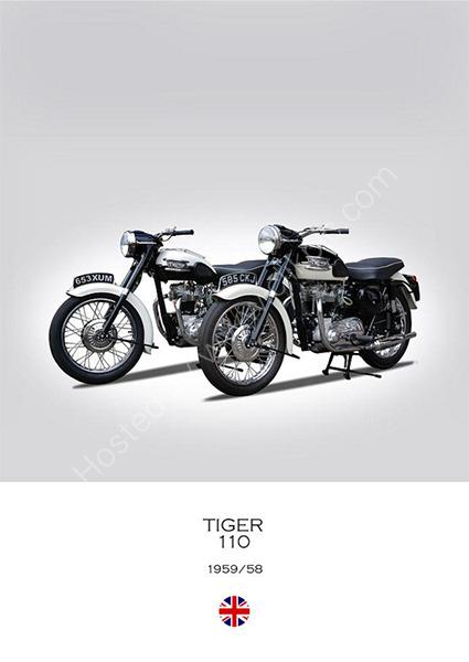 Two Triumph Tigers