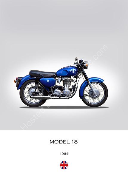 1964 AJS Model 18