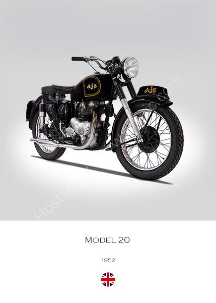 1952 AJS Model 20