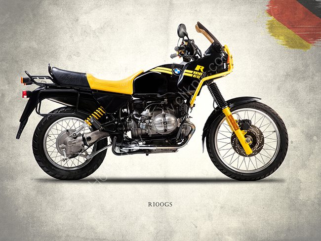 The R100GS 1991