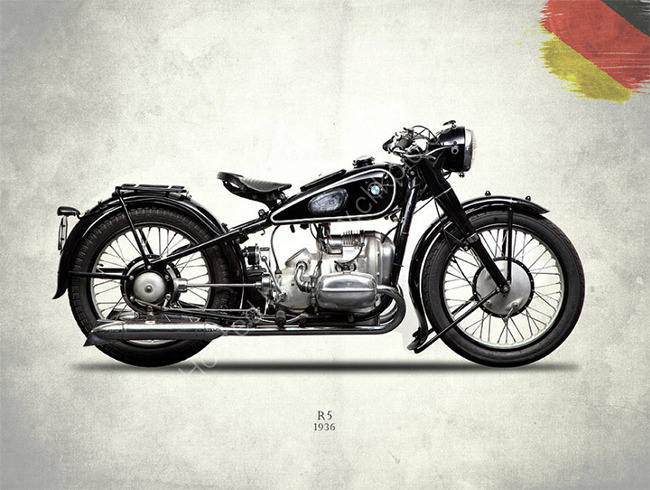 BMW R5 1936