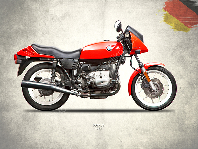 The 1982 R65LS
