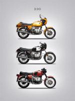 BMW R90 Trio