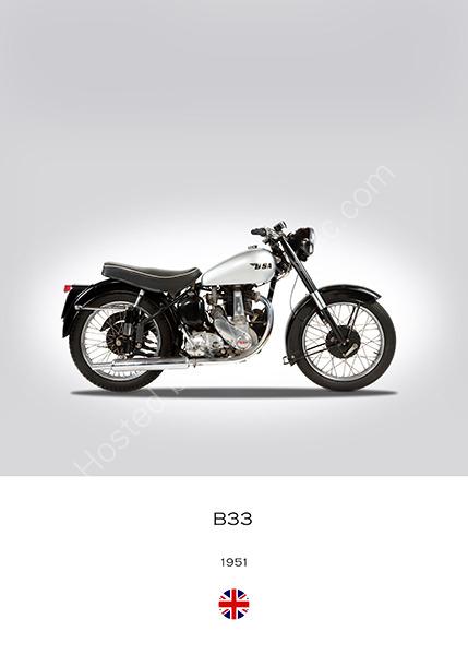 BSA B33 1951