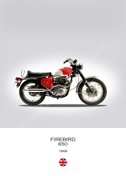 BSA Firebird 650 1968