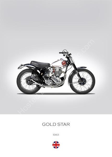 BSA Gold Star 1961