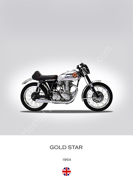 BSA Gold Star 1954