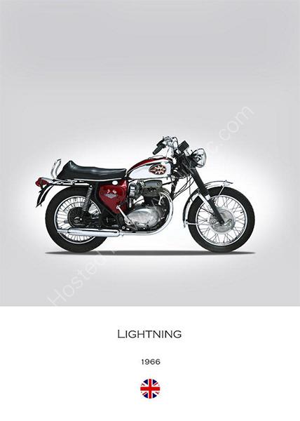 BSA A65 Lightning 1966