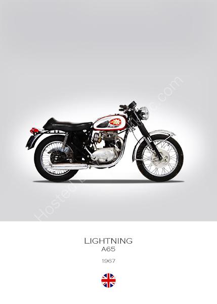 BSA A65 Lightning 1967
