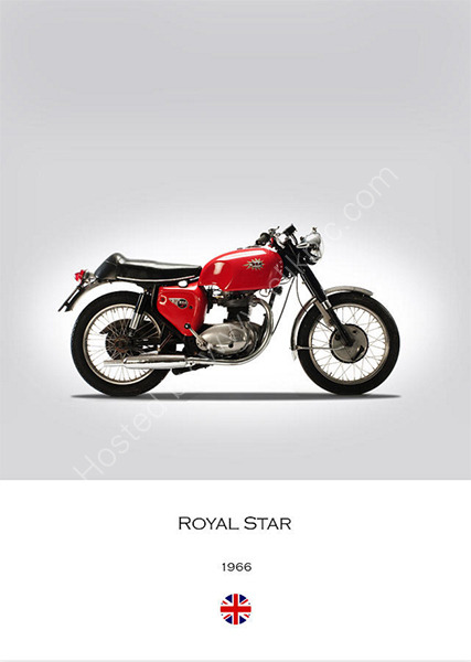 BSA A50 Royal Star 1966