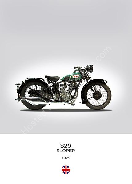 BSA S29 Sloper 1929