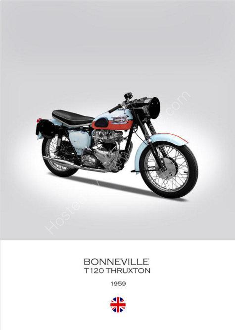 Triumph Bonneville T120, Thruxton Spec 1959