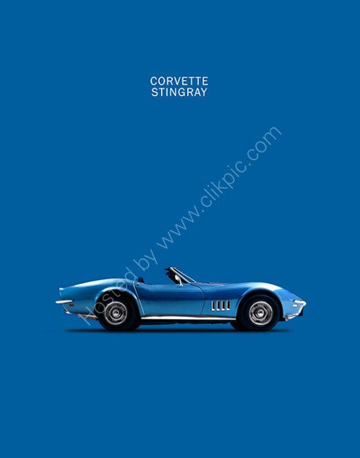 Corvette StingRay Blue