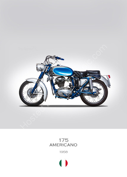 Ducati 175 Americano 1958