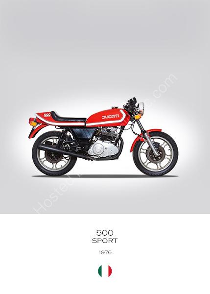 Ducati 500 Sport 1976