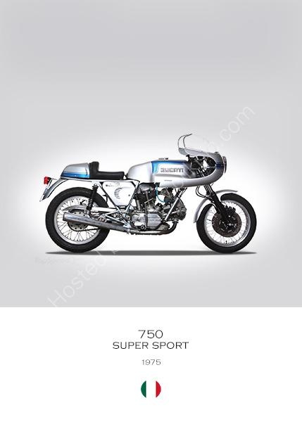 Ducati 750 Super Sport 1975