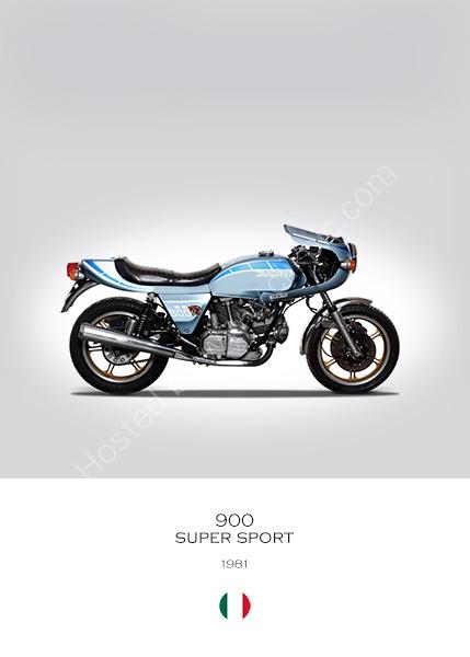 Ducati 900 Super Sport 1981
