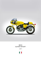Ducati 900 Super Sport 1977