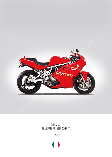 Ducati 900 Super Sport 1992
