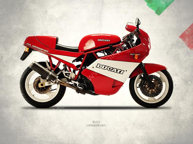 Ducati 900 Super Sport 1990