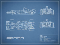 The F2007 GP Blueprint