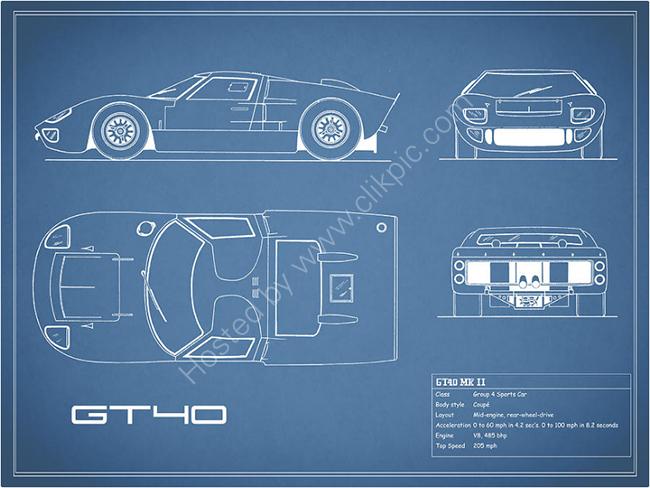 The GT40 Blueprint