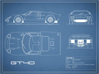 The GT40 Blueprint