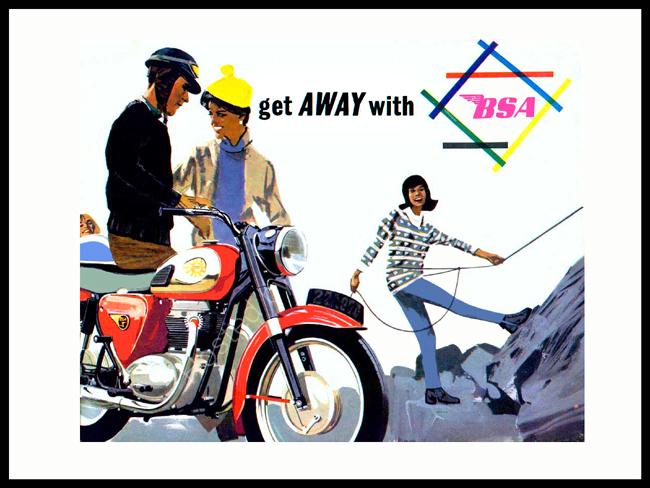 Get Away With BSA 1964