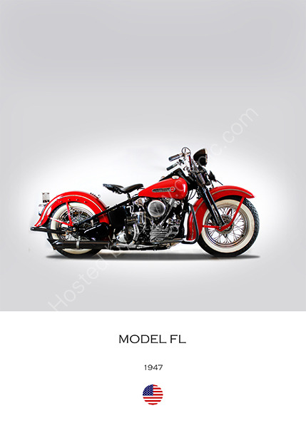 Harley-Davidson Model FL 1947