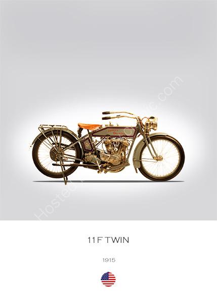 Harley-Davidson 11F Twin