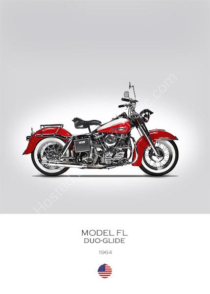 Harley-Davidson FL 1964